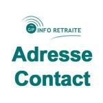 Adresse, Contact GIP Info Retraite – www.info-retraite.fr